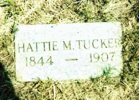 TUCKER, HATTIE M. - Izard County, Arkansas   HATTIE M. TUCKER - Arkansas Gravestone Photos