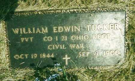 TUCKER (VETERAN UNION), WILLIAM EDWIN - Izard County, Arkansas | WILLIAM EDWIN TUCKER (VETERAN UNION) - Arkansas Gravestone Photos