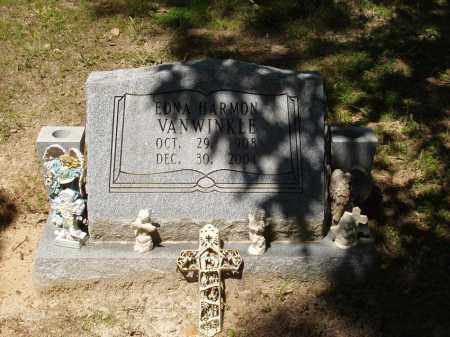 BURNS  HARMON-VAN WINKLE, EDNA TERESA - Izard County, Arkansas   EDNA TERESA BURNS  HARMON-VAN WINKLE - Arkansas Gravestone Photos