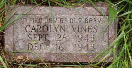 VINES, CAROLYN - Izard County, Arkansas | CAROLYN VINES - Arkansas Gravestone Photos