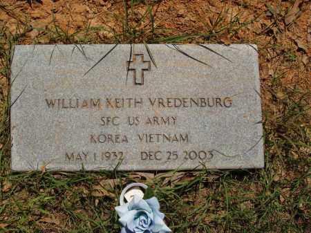 VREDENBURG  (VETERAN 2 WARS), WILLIAM KEITH - Izard County, Arkansas | WILLIAM KEITH VREDENBURG  (VETERAN 2 WARS) - Arkansas Gravestone Photos