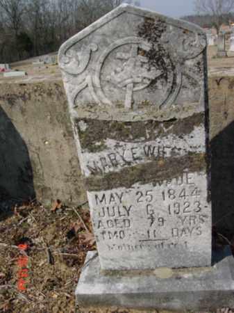 WADE, MARY E. - Izard County, Arkansas | MARY E. WADE - Arkansas Gravestone Photos