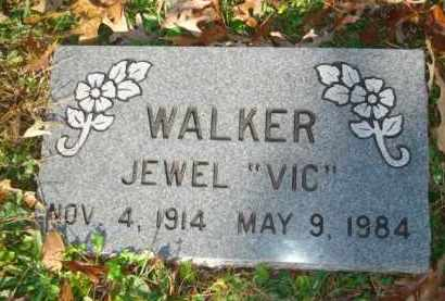 WALKER, JEWEL 'VIC' - Izard County, Arkansas | JEWEL 'VIC' WALKER - Arkansas Gravestone Photos