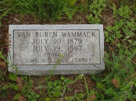 WAMMACK, VAN BUREN - Izard County, Arkansas | VAN BUREN WAMMACK - Arkansas Gravestone Photos
