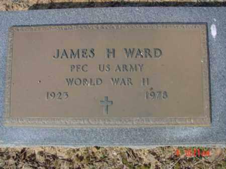 WARD  (VETERAN WWII), JAMES H - Izard County, Arkansas   JAMES H WARD  (VETERAN WWII) - Arkansas Gravestone Photos