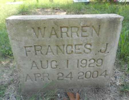 WARREN, FRANCES MARINE - Izard County, Arkansas | FRANCES MARINE WARREN - Arkansas Gravestone Photos
