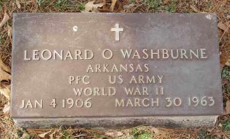 WASHBURNE  (VETERAN WWII), LEONARD O - Izard County, Arkansas | LEONARD O WASHBURNE  (VETERAN WWII) - Arkansas Gravestone Photos