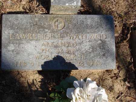 WAYLAND (VETERAN WWII KIA), LAWRENCE L - Izard County, Arkansas | LAWRENCE L WAYLAND (VETERAN WWII KIA) - Arkansas Gravestone Photos