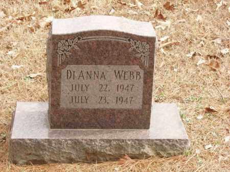 WEBB, DIANNA - Izard County, Arkansas | DIANNA WEBB - Arkansas Gravestone Photos