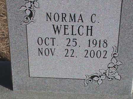 WELCH, NORMA C. - Izard County, Arkansas | NORMA C. WELCH - Arkansas Gravestone Photos