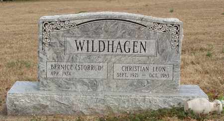 WILDHAGEN, CHRISTIAN LEON - Izard County, Arkansas | CHRISTIAN LEON WILDHAGEN - Arkansas Gravestone Photos