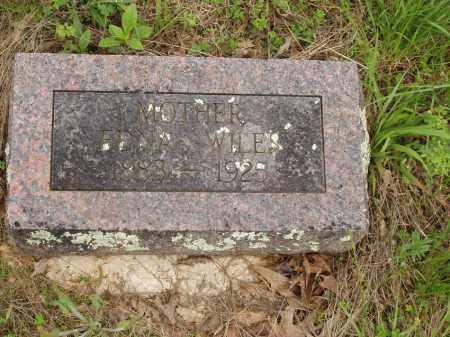 WILES, EDNA FRANCES - Izard County, Arkansas | EDNA FRANCES WILES - Arkansas Gravestone Photos