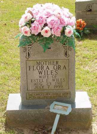 WILES, FLORA ORA - Izard County, Arkansas | FLORA ORA WILES - Arkansas Gravestone Photos