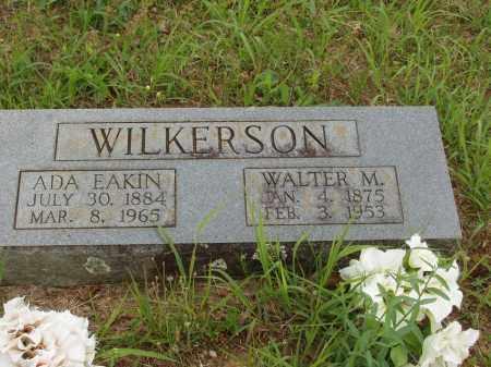 EAKIN WILKERSON, ADA EARINS - Izard County, Arkansas | ADA EARINS EAKIN WILKERSON - Arkansas Gravestone Photos