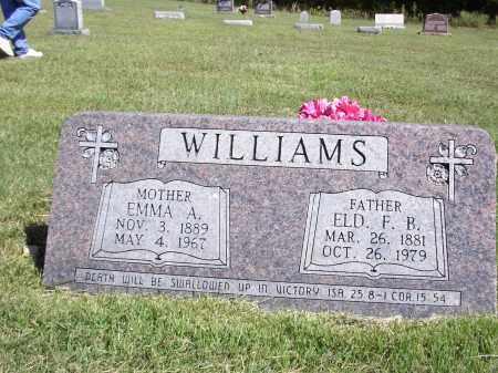 FOSTER WILLIAMS, EMMA AGNOS - Izard County, Arkansas | EMMA AGNOS FOSTER WILLIAMS - Arkansas Gravestone Photos