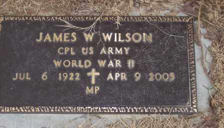 WILSON (VETERAN WWII), JAMES W - Izard County, Arkansas | JAMES W WILSON (VETERAN WWII) - Arkansas Gravestone Photos