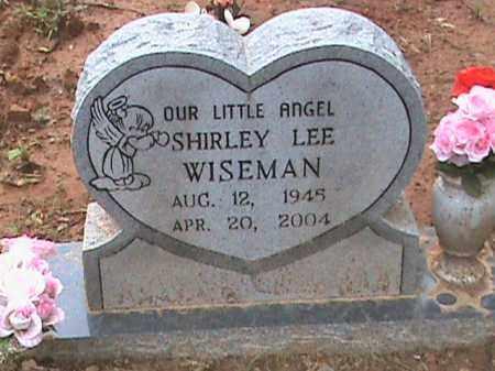 WISEMAN, SHIRLEY LEE - Izard County, Arkansas | SHIRLEY LEE WISEMAN - Arkansas Gravestone Photos