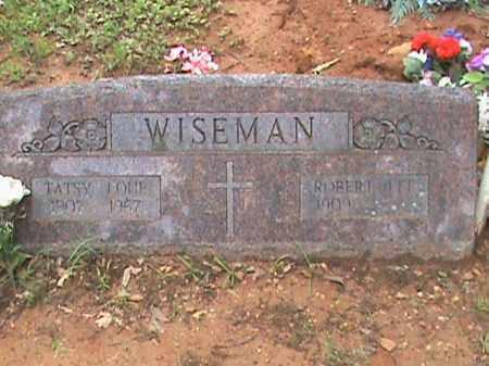 WISEMAN, TATSY LOUE - Izard County, Arkansas | TATSY LOUE WISEMAN - Arkansas Gravestone Photos