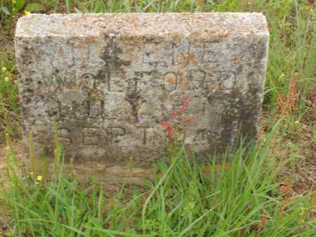 WOLFORD, WALLENE - Izard County, Arkansas | WALLENE WOLFORD - Arkansas Gravestone Photos