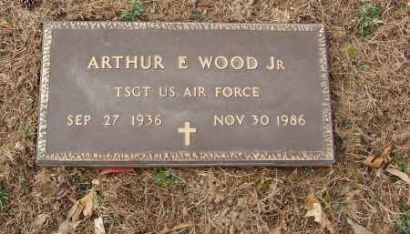 WOOD, JR  (VETERAN), ARTHUR E - Izard County, Arkansas   ARTHUR E WOOD, JR  (VETERAN) - Arkansas Gravestone Photos