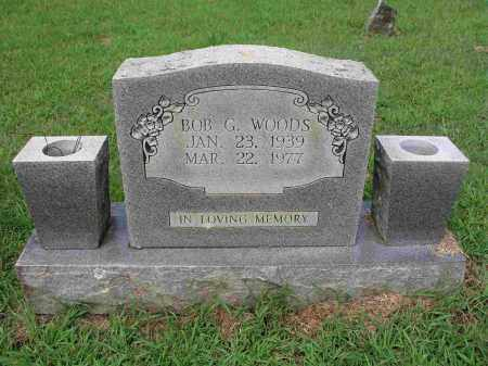 WOODS, BOB G. - Izard County, Arkansas   BOB G. WOODS - Arkansas Gravestone Photos