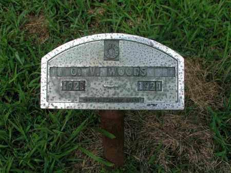 WOODS, O.V. - Izard County, Arkansas   O.V. WOODS - Arkansas Gravestone Photos
