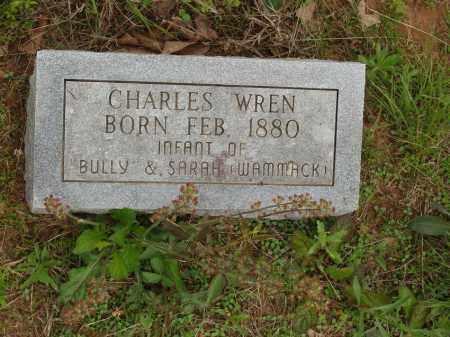 WREN, CHARLES - Izard County, Arkansas   CHARLES WREN - Arkansas Gravestone Photos
