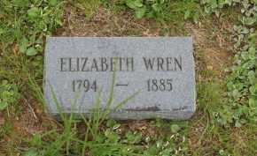 HIGHTOWER WREN, ELIZABETH - Izard County, Arkansas | ELIZABETH HIGHTOWER WREN - Arkansas Gravestone Photos