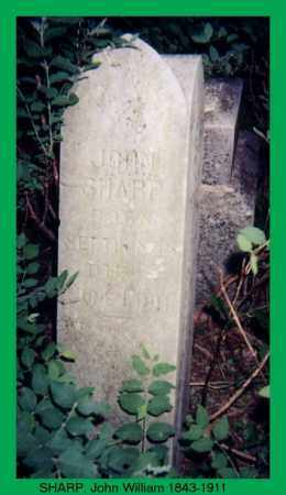 SHARP (VETERAN CSA), JOHN WILLIAM - Izard County, Arkansas | JOHN WILLIAM SHARP (VETERAN CSA) - Arkansas Gravestone Photos