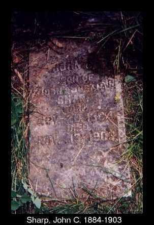 SHARP, JOHN C. - Izard County, Arkansas | JOHN C. SHARP - Arkansas Gravestone Photos
