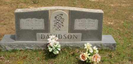 DAVIDSON, FRED WALTER - Izard County, Arkansas | FRED WALTER DAVIDSON - Arkansas Gravestone Photos