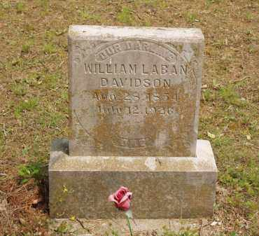 DAVIDSON, WILLIAM LABAN - Izard County, Arkansas | WILLIAM LABAN DAVIDSON - Arkansas Gravestone Photos
