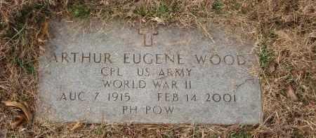 WOOD (VETERAN WWII POW), ARTHUR EUGENE - Izard County, Arkansas | ARTHUR EUGENE WOOD (VETERAN WWII POW) - Arkansas Gravestone Photos