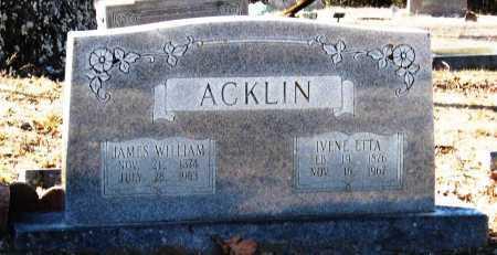 ACKLIN, IVENE ETTA - Jackson County, Arkansas | IVENE ETTA ACKLIN - Arkansas Gravestone Photos