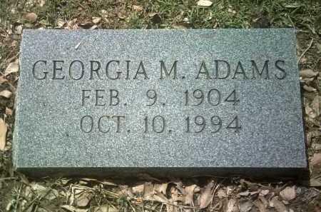 ADAMS, GEORGIA M - Jackson County, Arkansas   GEORGIA M ADAMS - Arkansas Gravestone Photos