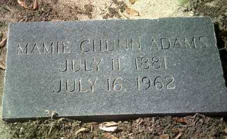 CHUNN ADAMS, MAMIE - Jackson County, Arkansas | MAMIE CHUNN ADAMS - Arkansas Gravestone Photos