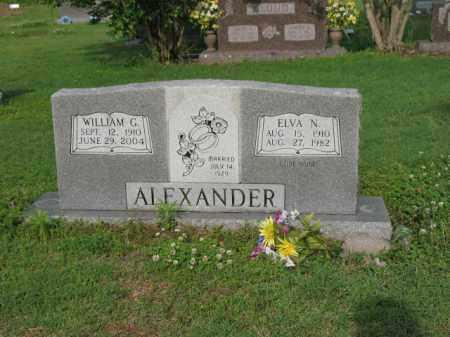 ALEXANDER, ELVA N - Jackson County, Arkansas | ELVA N ALEXANDER - Arkansas Gravestone Photos