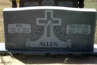 ALLEN, WILL - Jackson County, Arkansas | WILL ALLEN - Arkansas Gravestone Photos