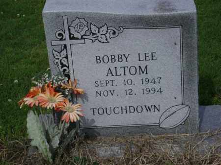 ALTOM, BOBBY LEE - Jackson County, Arkansas | BOBBY LEE ALTOM - Arkansas Gravestone Photos