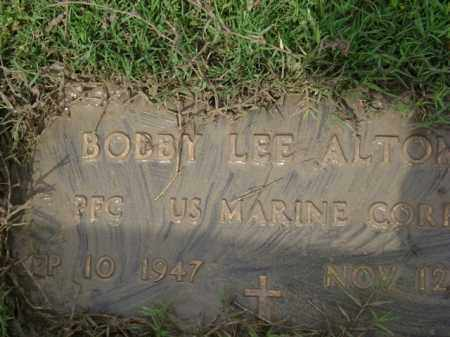 ALTOM (VETERAN), BOBBY LEE - Jackson County, Arkansas | BOBBY LEE ALTOM (VETERAN) - Arkansas Gravestone Photos