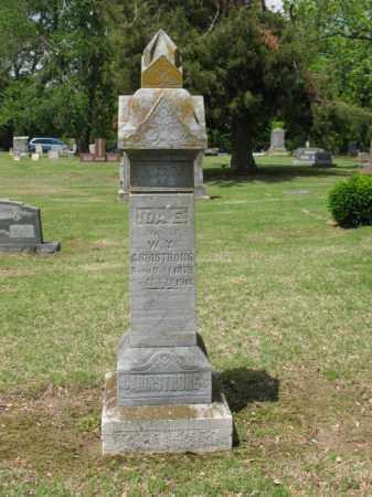 ARMSTRONG, IDA E - Jackson County, Arkansas | IDA E ARMSTRONG - Arkansas Gravestone Photos