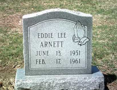 ARNETT, EDDIE LEE - Jackson County, Arkansas | EDDIE LEE ARNETT - Arkansas Gravestone Photos