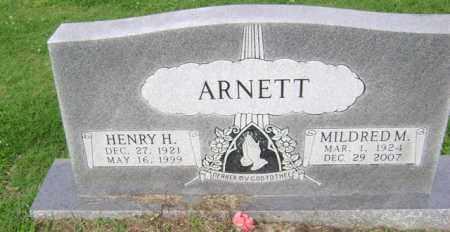 ARNETT, HENRY H - Jackson County, Arkansas | HENRY H ARNETT - Arkansas Gravestone Photos