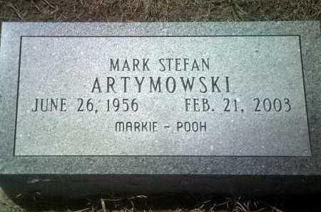"ARTYMOWSKI, MARK STEFAN ""MARKIE-POOH"" - Jackson County, Arkansas   MARK STEFAN ""MARKIE-POOH"" ARTYMOWSKI - Arkansas Gravestone Photos"