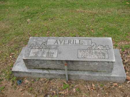 AVERILL, MABLE ALICE - Jackson County, Arkansas | MABLE ALICE AVERILL - Arkansas Gravestone Photos