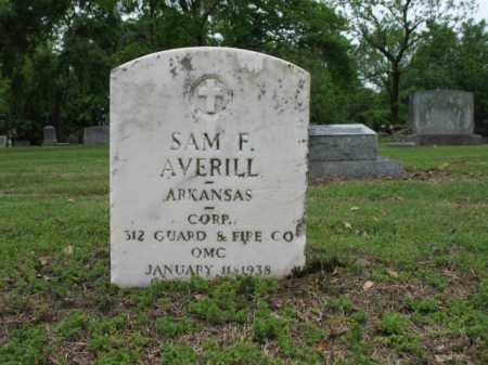 AVERILL (VETERAN), SAM FRANKLIN - Jackson County, Arkansas   SAM FRANKLIN AVERILL (VETERAN) - Arkansas Gravestone Photos