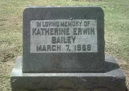 BAILEY, KATHERINE - Jackson County, Arkansas | KATHERINE BAILEY - Arkansas Gravestone Photos