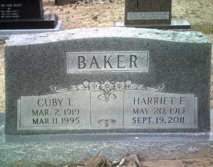 BAKER, CUBY L - Jackson County, Arkansas | CUBY L BAKER - Arkansas Gravestone Photos