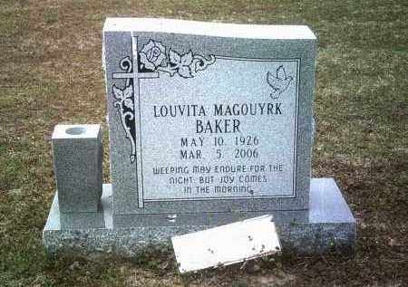 BAKER, LOUVITA - Jackson County, Arkansas   LOUVITA BAKER - Arkansas Gravestone Photos