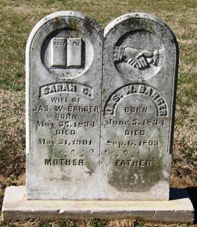 BARGER, SARAH C - Jackson County, Arkansas | SARAH C BARGER - Arkansas Gravestone Photos